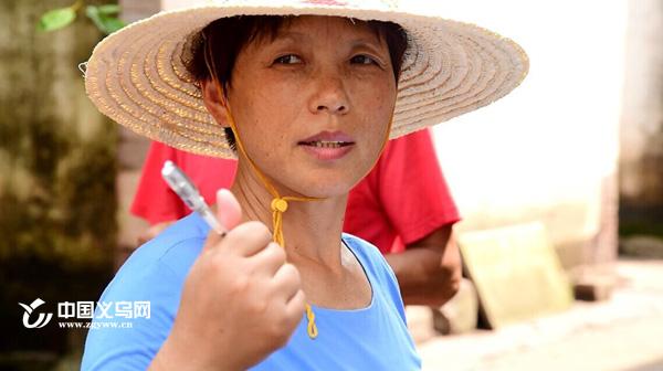 那个背影--视频纪录暴雨过后义乌一女村支书的忙碌