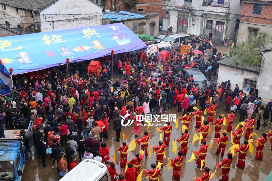 """大家的春节过完了 义乌这个村的""""大年""""才刚开始"""