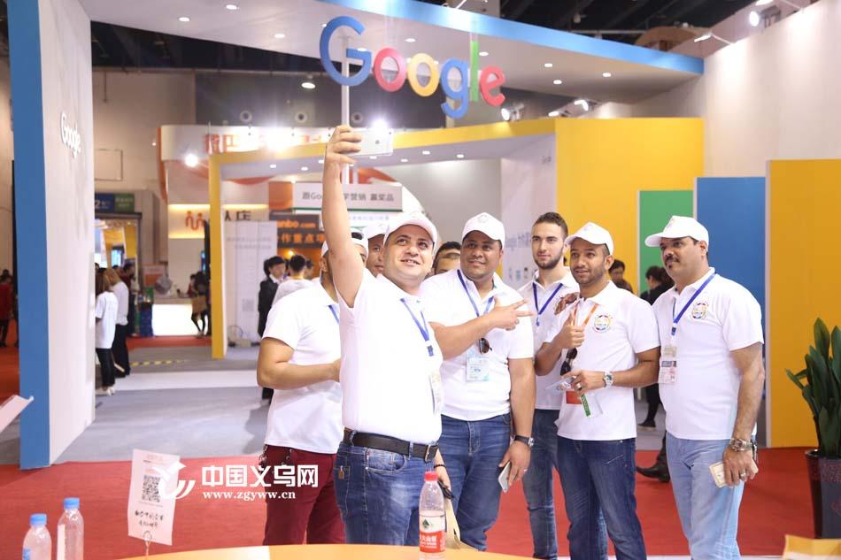 义乌外商组团参观国际电商博览会 阿里巴巴要为他们开沙龙