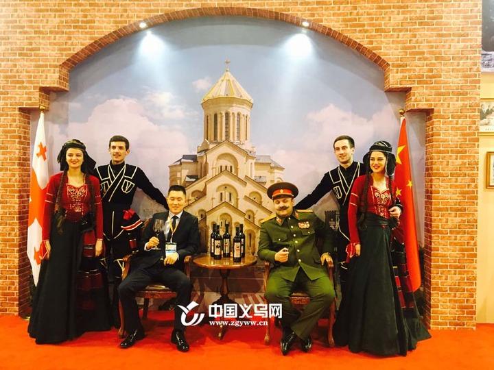 """义乌进口商品博览会惊现""""斯大林""""?这个展位火了"""