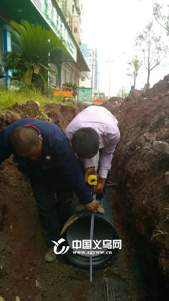 建筑工地水预埋-工程于今年6月30日成功开始施工建设,现场施工人员以10天时间完成
