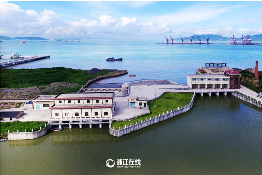 舟山:建�\闸造泵站 排水防潮有保障
