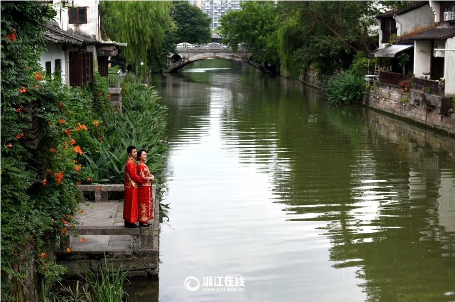 杭州小河直街风情荡漾