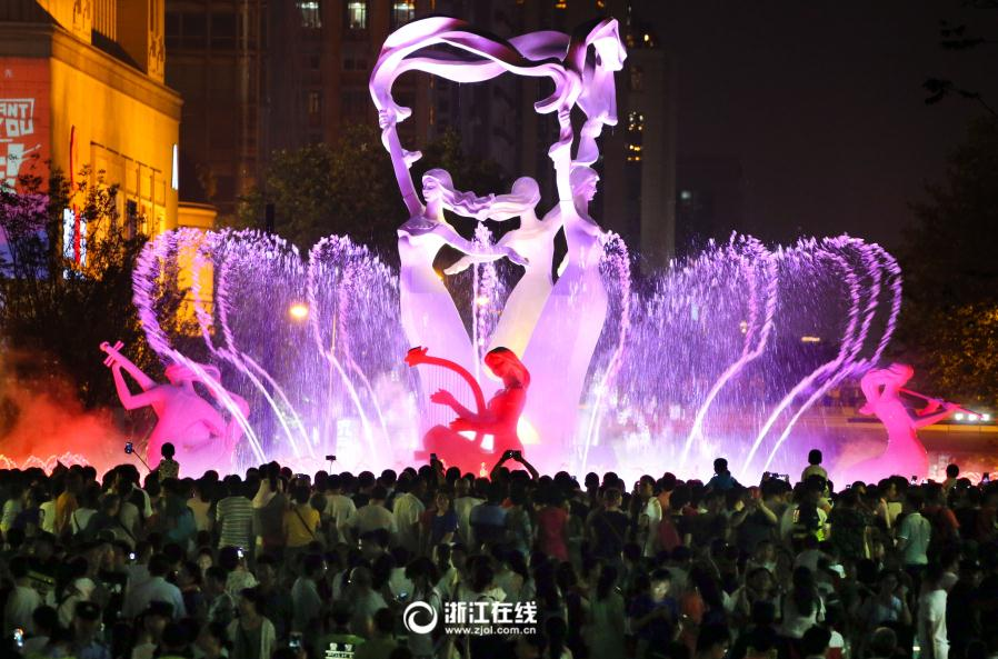 炫目杭州夜