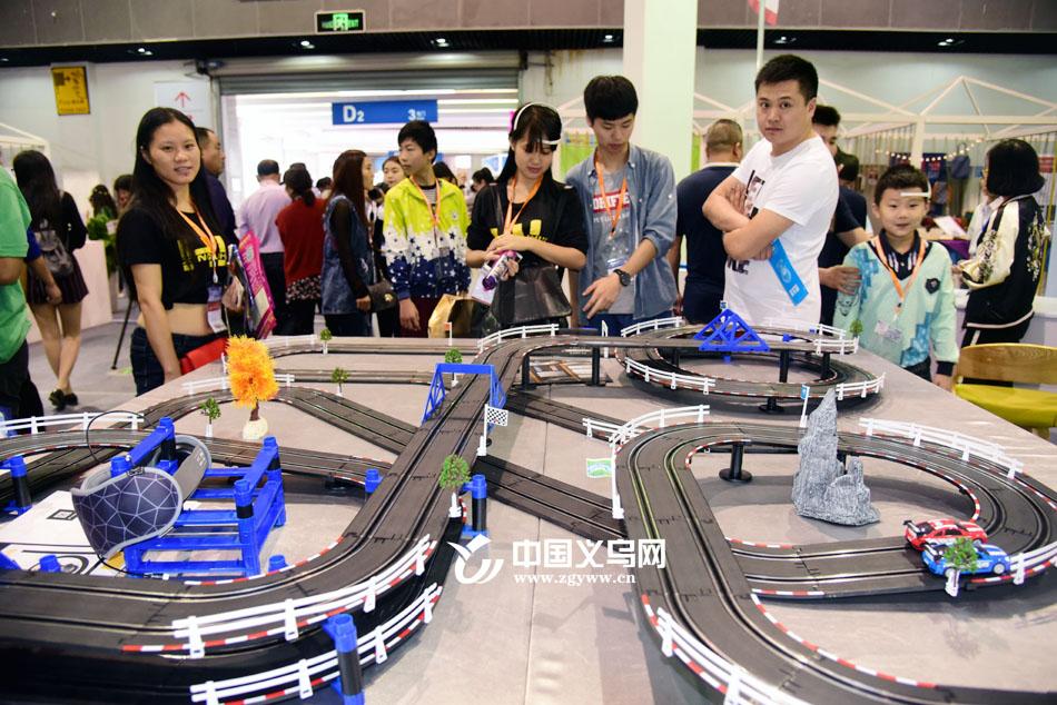 科幻片即视感 义博会上这款赛车居然能用意念控制