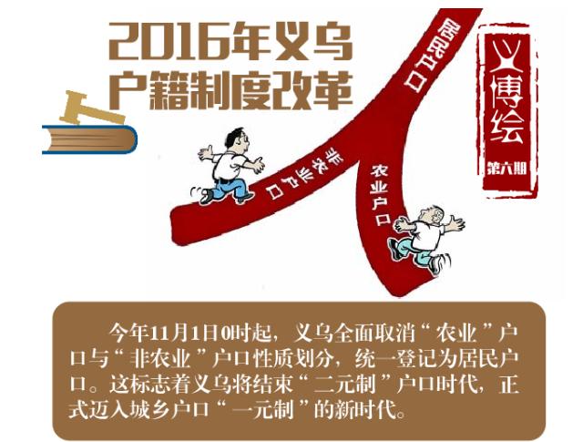 义博绘⑥图说2016年户籍制度改革