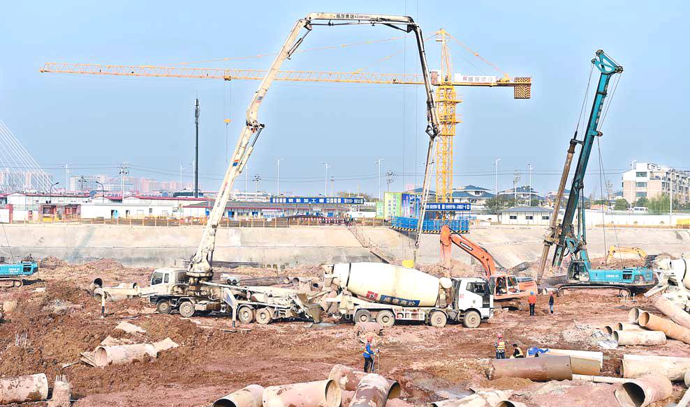 义乌市博物馆新馆项目建设正酣