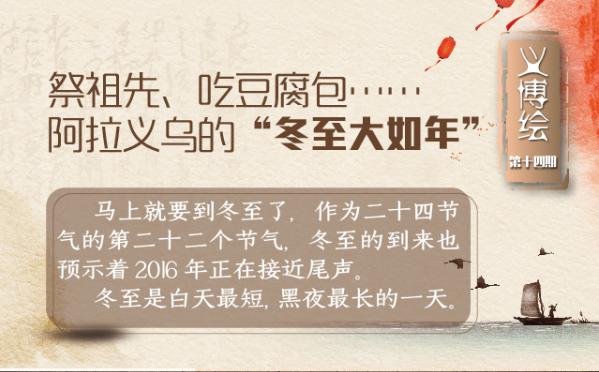 """义博绘⑭祭祖先、吃豆腐包……阿拉义乌的""""冬至大如年"""""""