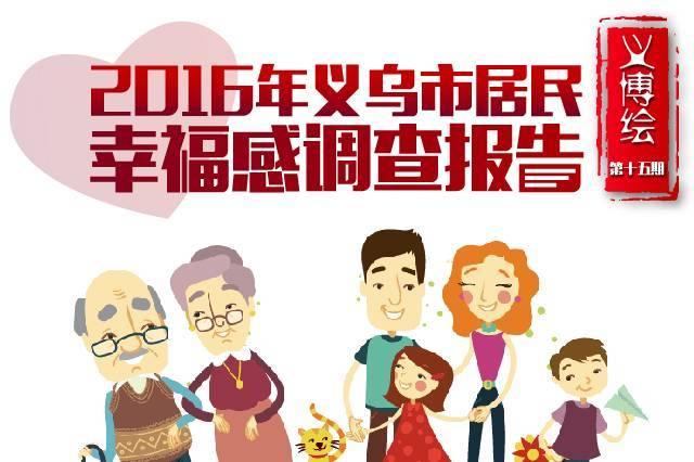 义博绘⑮2016年义乌市居民幸福感调查报告