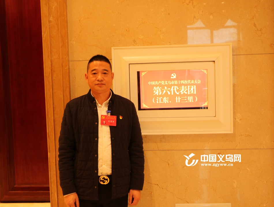 党代表毛胜平:电商助力义乌打造世界小商品之都