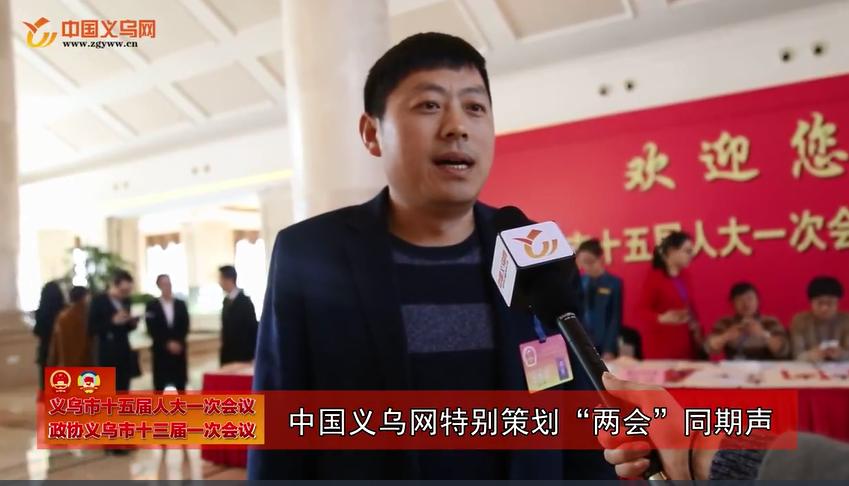 """义乌""""两会""""同期声:代表委员话经济"""