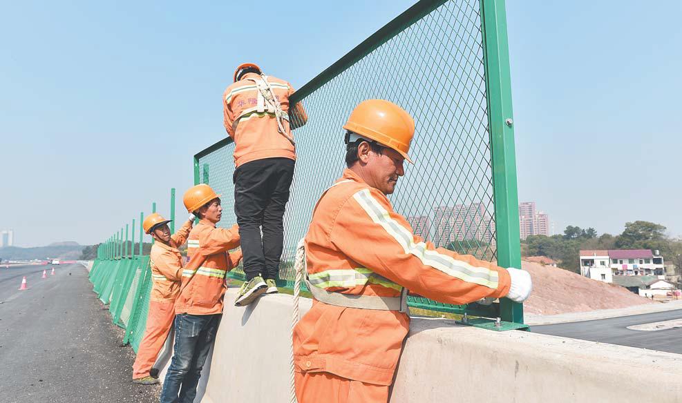 东义公路建设进入冲刺阶段