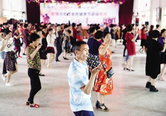"""义乌市广场舞""""千人培训计划""""启动"""