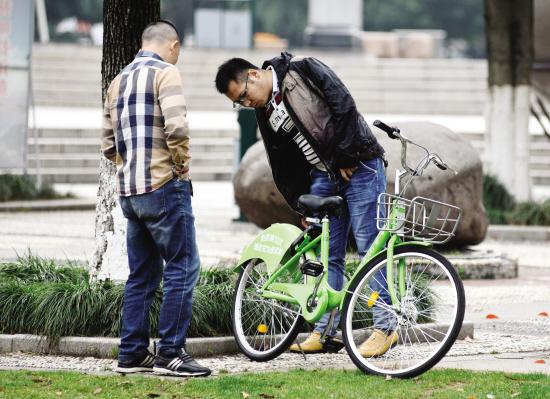 """义乌共享单车停放""""太任性"""""""