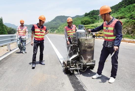 义兰公路推进配套工程建设