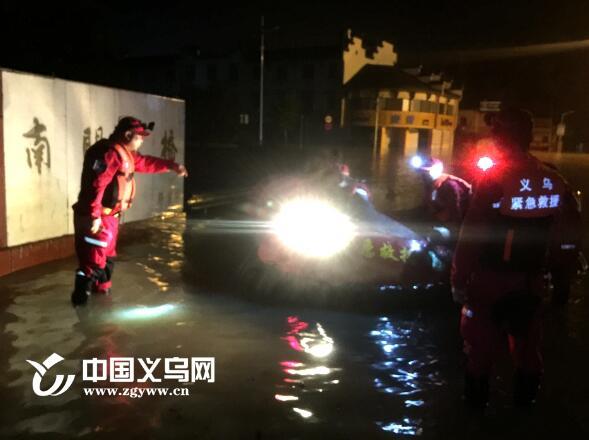 【十八力】哪里有灾情哪里就有义乌救援的身影 民间救援力量赶赴兰溪