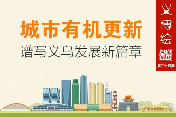 义博绘|城市有机更新谱写义乌发展新篇章