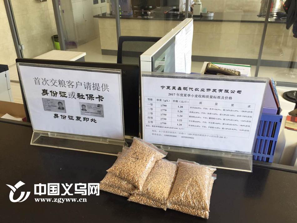 """宁夏永宁:惠农利农 农民粮食也能存""""银行"""""""