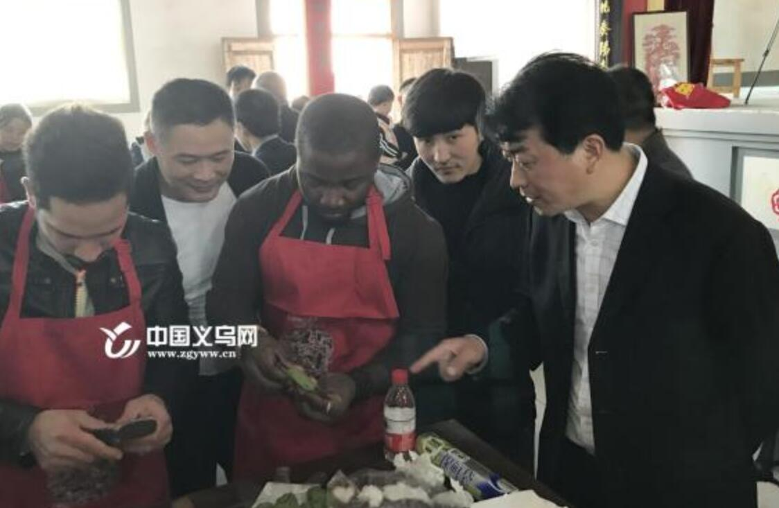 """采茶、剪纸、制作清明粿 百名外籍学生在义乌度过""""我们的节日"""""""