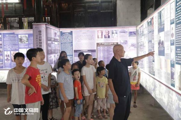 日本投降纪念日 义乌上金村小朋友参观细菌战展览馆