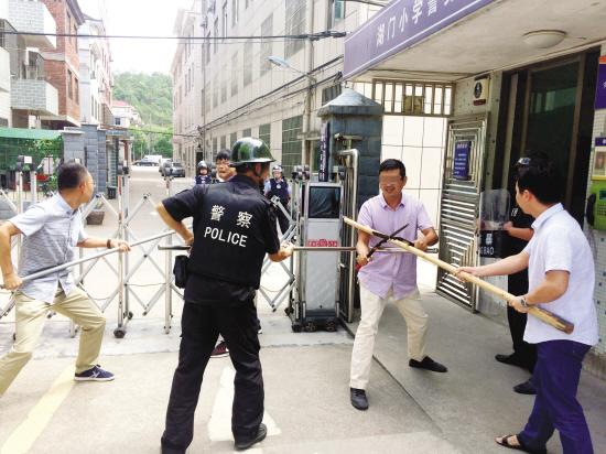 义乌:防暴演练 防患于未然