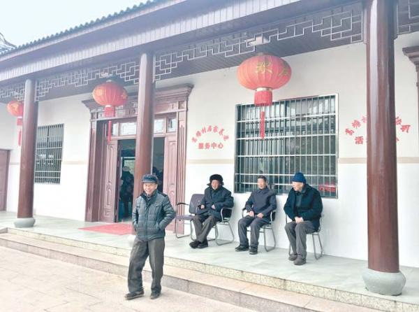 廿三里葛塘村居家养老服务中心真不错