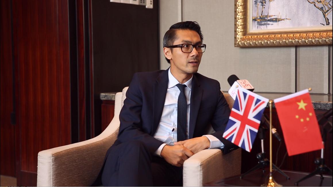 外交官@义乌|英国驻上海总领事馆双边关系及华东地区合作领事 何伟杰
