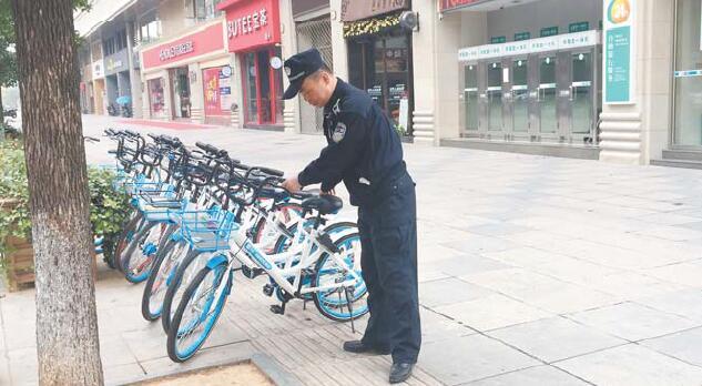 让共享单车多便民少扰民 执法部门着手规范共享单车乱象