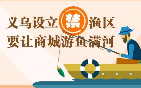 义博绘|义乌设立禁渔区 要让商城游鱼满河