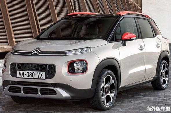 雪铁龙全新小型SUV路试谍照 将于年内上市