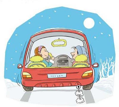 一慢、二保持、三忌、四注意――冰雪天气话行车安全