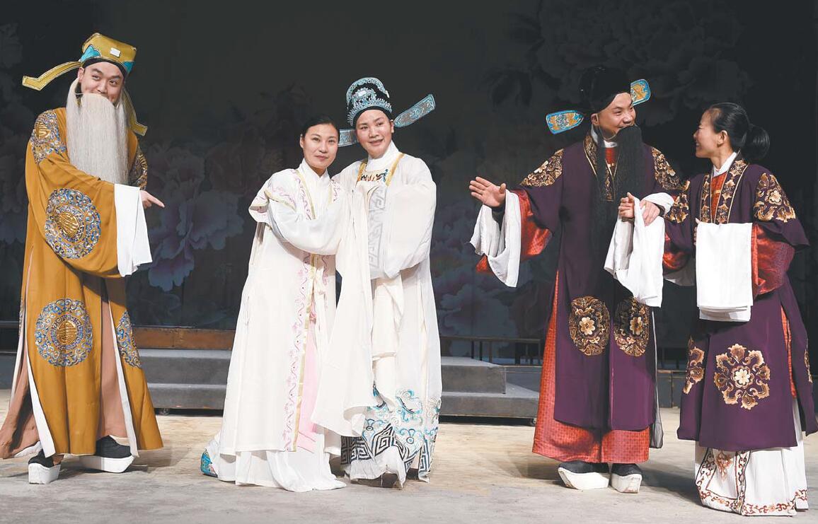 义乌市婺剧保护传承中心排戏迎春