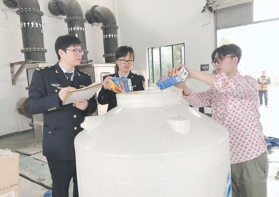 义乌市销毁3批不合格进口饮料
