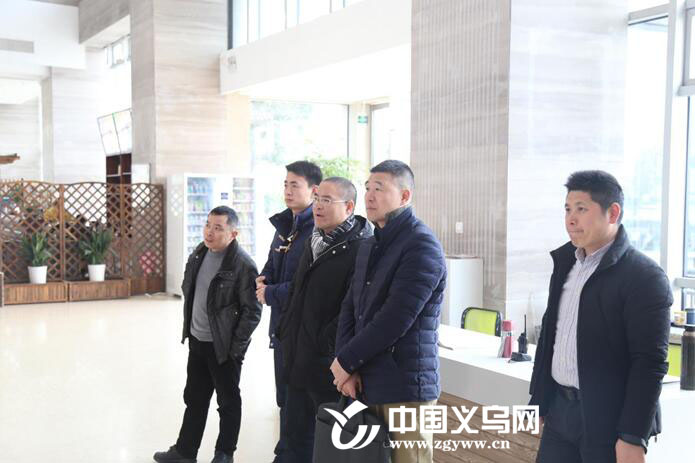 衢州市科协领导考察佛堂群团改革试点