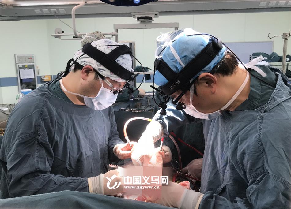 比红海行动更燃!义乌外科医生春节一天三台高难度心脏手术