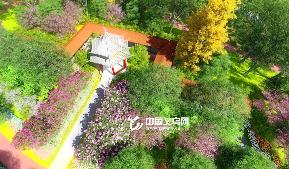 7700万元建两个公园 义乌苏溪居民也拥有自己的江景、湖景