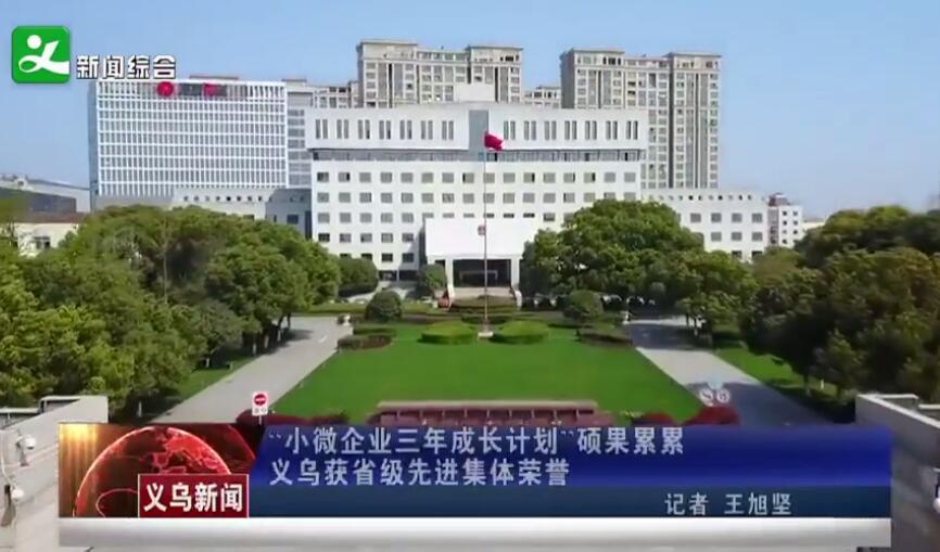 """""""小微企业三年成长计划""""硕果累累 义乌获省级先进集体荣誉"""
