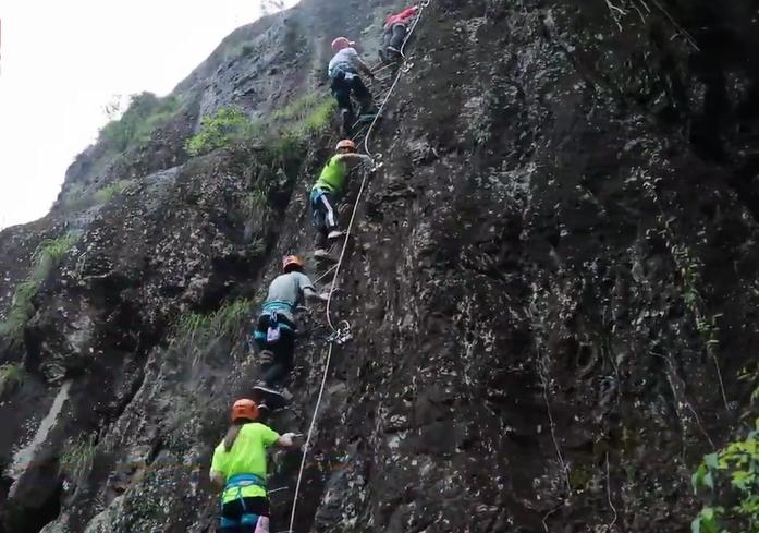 攀岩 骑行 漂流……仙居原来是酷玩胜地!