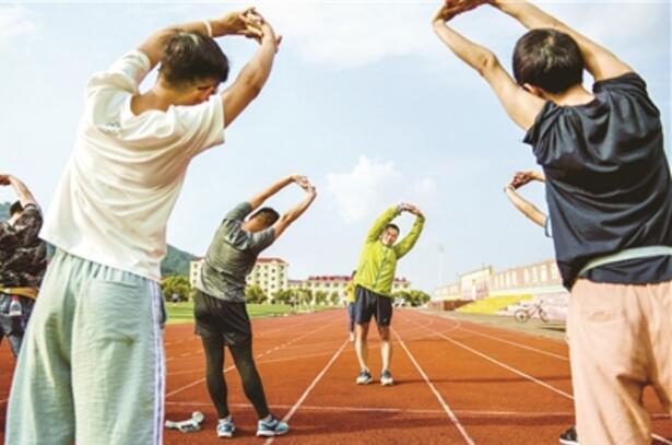义乌开展长跑训练