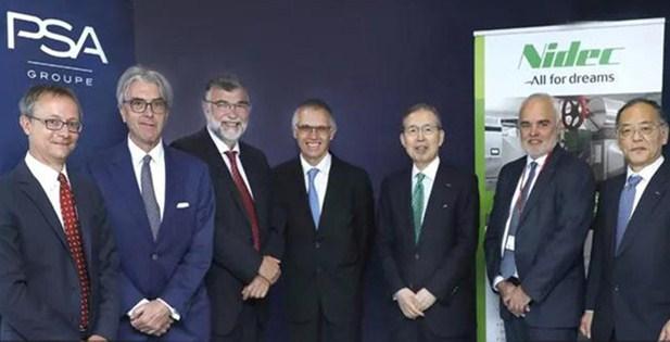 """PSA""""牵手""""日本电产 成立合资公司/发力新能源"""