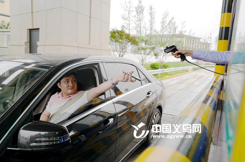 """义东高速开启移动支付 义乌境内高速口进入""""扫码时代"""""""