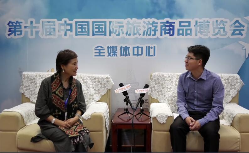 郭凯:旅博会十年成长不易 希望能继续搭建交流合作平台