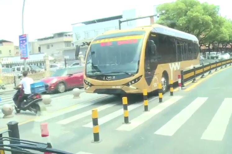 """义乌BRT1号线获评全国10条""""新能源高品质线路"""""""