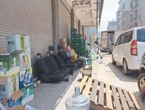 义乌北苑街道春晗二区环境状况令人忧