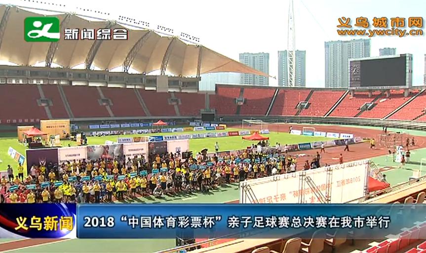 """2018""""中国体育彩票杯""""亲子足球赛总决赛开打"""