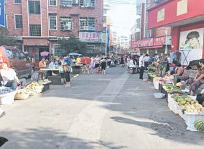 义乌稠江街道楼下村小菜场环境脏乱差