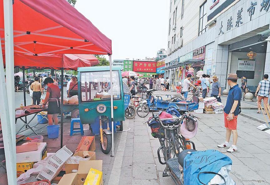 监督台|义乌大陈菜市场周边环境需要大提升