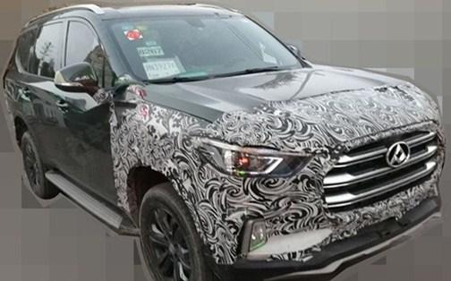 上汽大通将推新能源SUV 配旋钮换挡/轴距超2.9米