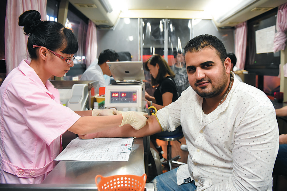 """义乌开设""""献血夜市"""" 5天265人参与"""