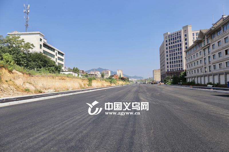 """义乌苏溪镇镇前街""""长""""了一倍  计划9月底通车"""
